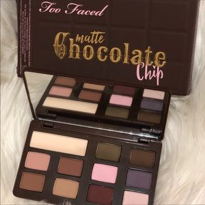 🆕Too Faced Matte Chocolate Chip Eyeshadow Palette